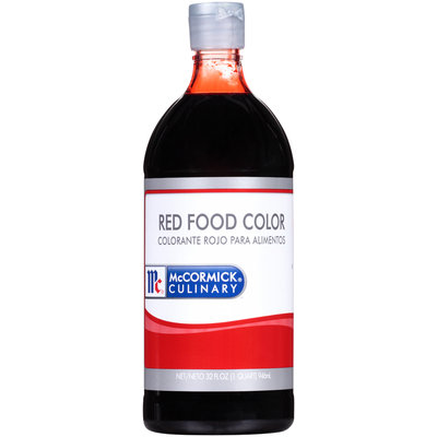 McCormick® Culinary™ Red Food Color 32 fl. oz. Bottle