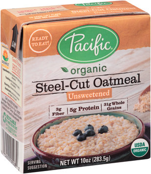Pacific Organic Unsweetened Steel-Cut Oatmeal