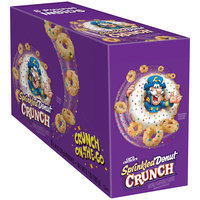 Cap'n Crunch's Sprinkled Donut Crunch Crunch On-the-Go Cereal 8-0.84 oz. Pouch