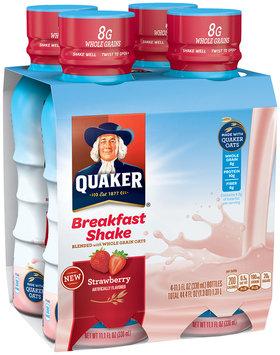 Quaker® Strawberry Breakfast Shake
