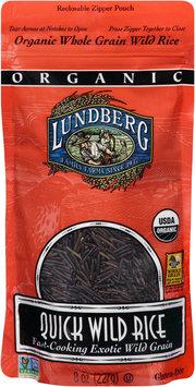 Lundberg Family Farms® Quick Wild Rice 8 oz. Pouch