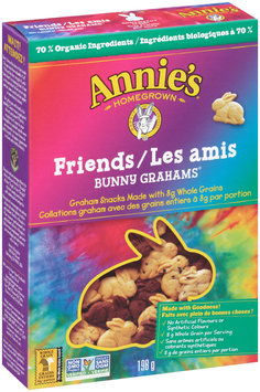 Annie's® Bunny Grahams® Friends Whole Grain Graham Snacks 198g Box