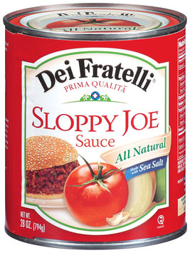 Dei Fratelli® Sloppy Joe Sauce 28 oz Can