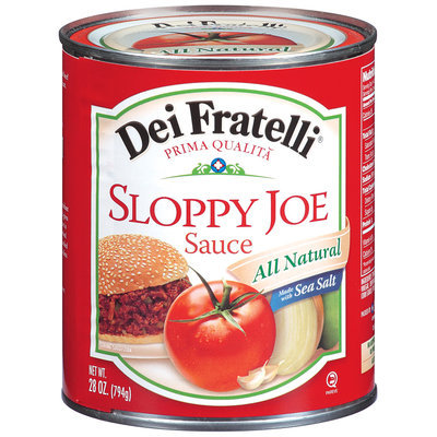 Dei Fratelli® Sloppy Joe Sauce 28 oz Can
