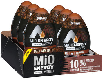 MiO Energy Iced Mocha Java Iced Coffee Concentrate 1.62 fl. oz. Bottle