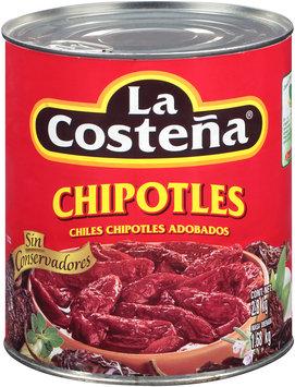 La Costena® Chipotles Chiles Chipotles Adobados 2.8 kg Can