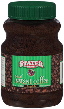 Stater Bros.® Instant Decaf Coffee Crystals 8 oz. Jar
