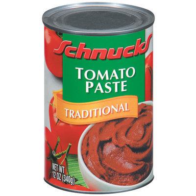 Schnucks Traditional Tomato Paste 12 Oz Can