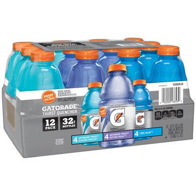 Gatorade® G Series Frost® Glacier Freeze®/Frost® Riptide Rush™/Cool Blue™ Variety Pack Sports Drink 12-32 fl. oz. Bottles