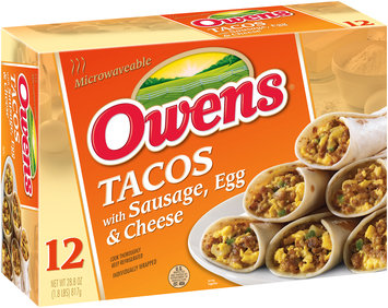 Owens® Tacos with Sausage Egg & Cheese