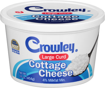 Crowley® Large Curd Cottage Cheese 16 oz. Tub