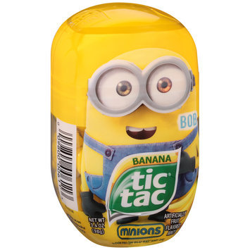Tic Tac Minions Banana Mints