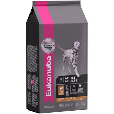 Eukanuba™ Adult Lamb & Rice Formula Dog Food 5 lb. Bag