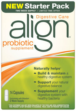 Align Digestive Care Starter Pack Probiotic Supplement 14 ct Box