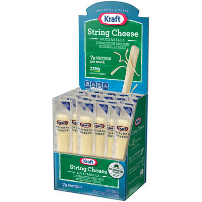 Kraft® Low-Moisture Part-Skim Mozzarella String Cheese 24-1 oz. Sticks