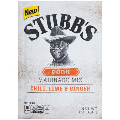 Stubb's® Pork Marinade Mix 1 oz. Pouch
