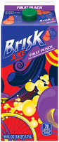 Brisk® Fruit Punch Juice Drink 59 fl. oz. Carton