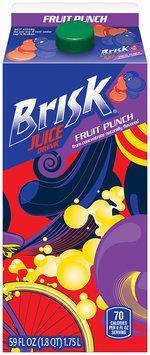 Brisk® Fruit Punch Juice Drink 59 fl. oz. Carton