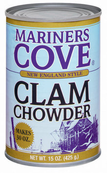 Mariners Cove New England Style Clam Chowder 15 Oz Can