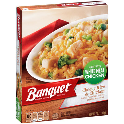 Banquet® Cheesy Rice & Chicken 7 oz. Box
