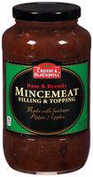 Crosse & Blackwell® Rum & Brandy Mincemeat Filling & Topping 29 oz. Jar