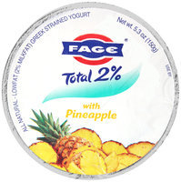 Fage® Total 2% Lowfat Greek Strained Yogurt with Pineapple 5.3 oz. Cup
