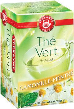 Teekanne Camomile-Mint Decaffeinated Green Tea Tea Bags 20 Ct Box