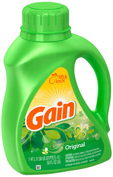 Gain with FreshLock Original Liquid Detergent 50 fl. oz.
