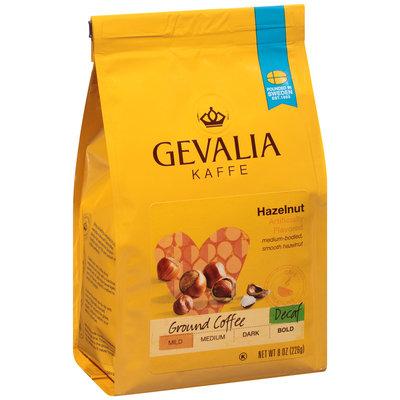 Gevalia Decaf Hazelnut Ground Coffee 8 oz. Bag
