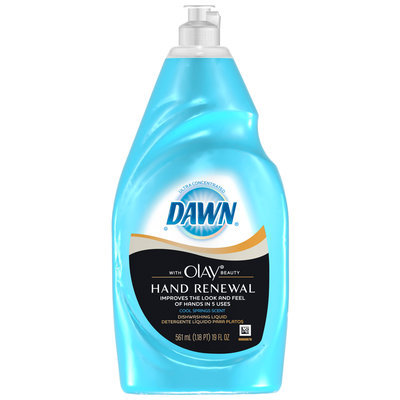 Dawn Hand Renewal Cool Springs Dishwashing Liquid