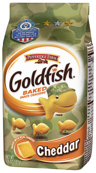 Goldfish® Cheddar Baked Cheddar Snack Crackers