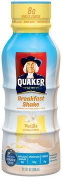 Quaker® Vanilla Breakfast Shake