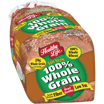 Healthy Life® 100% Whole Grain Soft Style Bread 20 oz. Loaf