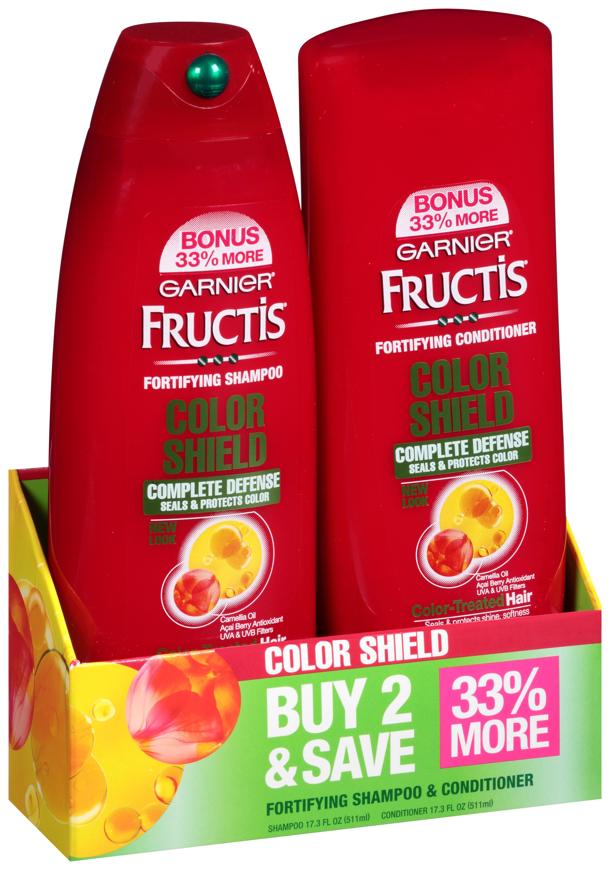 Garnier Fructis Color Shield Complete Defense Shampoo and Conditioner