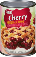 Great Value™ Cherry Pie Filling or Topping 21 oz. Can