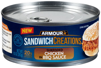 Armour® Sandwich Creations™ Shredded Chicken in BBQ Sauce 10 oz. Can