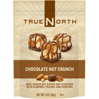 TrueNorth® Chocolate Nut Crunch Nut Clusters 5 oz. Stand-up Bag