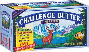 Challenge Unsalted Butter 16 oz