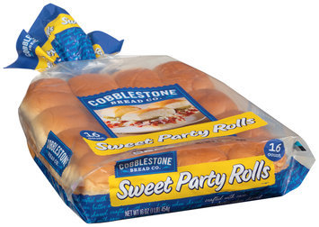 Cobblestone Bread Co.™ Sweet Party Rolls 16 ct Bag