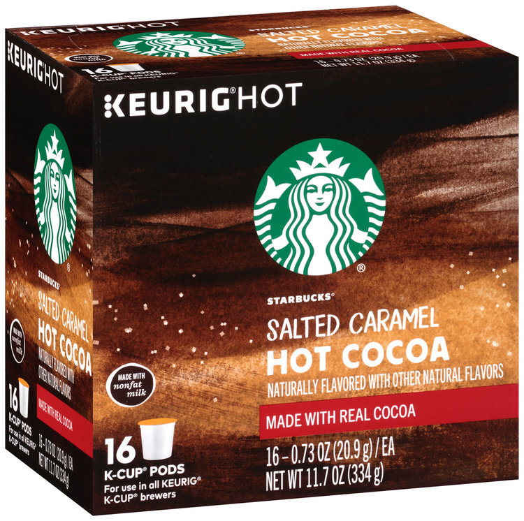 Starbucks Salted Caramel Hot Cocoa K Cups
