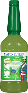 Major Peters'® Margarita Alcohol Free Cocktail Mix 1L Bottle