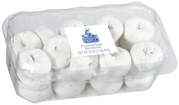 Dutch Mill Powdered Sugar Mini Donuts 16 Oz Clamshell