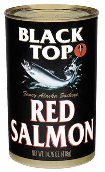 Black Top Fancy Alaska Sockeye Red Salmon 14.75 Oz Can