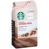 Starbucks® Peppermint Mocha Flavored Ground Coffee 11 oz. Bag
