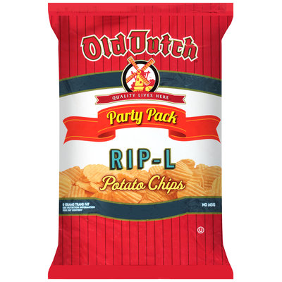 Old Dutch® RIP-L Potato Chips 16 oz. Bag