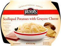 Reser's Fine Foods® Sensational Sides Scalloped Potatoes with Gruyere Cheese 12 oz. Tray