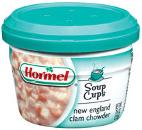 HORMEL New England Clam Chowder Soup MW Cup 7.5 OZ MICROCUP