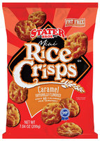 Stater Bros. Caramel Mini Rice Crisps 7.04 Oz Bag