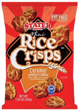 Stater Bros. Caramel Mini Rice Crisps 7.04 Oz Bag