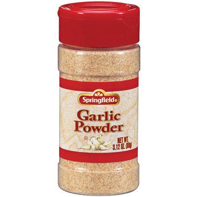 SPRINGFIELD  Garlic Powder 3.12 OZ SHAKER